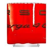 Targa Shower Curtain