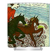 Tarot Of The Younger Self The Chariot Shower Curtain