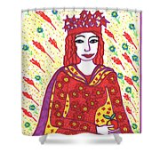 Tarot Of The Younger Self The Empress Shower Curtain
