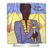 Tarot Of The Younger Self The High Priest Shower Curtain