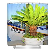 Tarpon                 Tarpon Palm                                     Shower Curtain