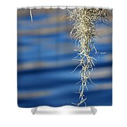 Tarpon Springs Moss Shower Curtain