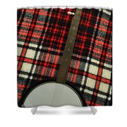 Tartan Banjo Shower Curtain
