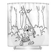 Tarzan Shower Curtain