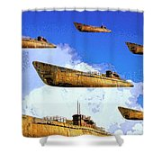 Task Force Shower Curtain