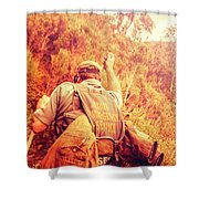 Tasmania Search And Rescue Ses Volunteer  Shower Curtain