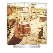 Tasmanian Ciders Shower Curtain