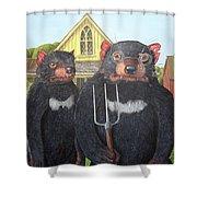 Tasmanian Gothic Shower Curtain