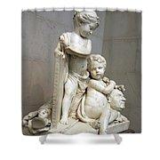 Tassaert's Painting And Sculpture Shower Curtain