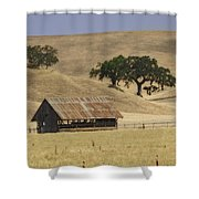 Tassajara Road Shower Curtain