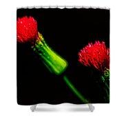 Tassel Flower Shower Curtain