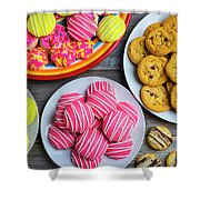 Tasty Assortment Of Cookies Shower Curtain