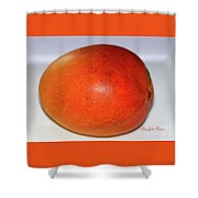 Tasty Mango Shower Curtain