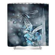 Tattered Wings B2 Shower Curtain