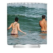 Tattoo Family Shower Curtain