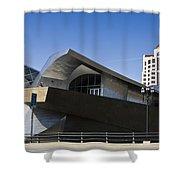 Taubman And Tower Roanoke Virginia Shower Curtain