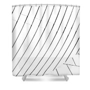 Taubman Museum Abstract #4 Shower Curtain