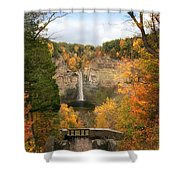Taughannock Falls Splendor Shower Curtain