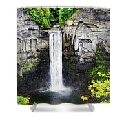 Taughannock Falls View From The Top Shower Curtain