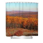 Taum Sauk Mountain Shower Curtain