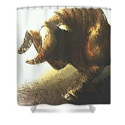 Taurus II Shower Curtain