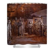 Tavern In Whitechapel 1869 Shower Curtain