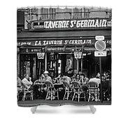 Taverne St. Germain, Paris Shower Curtain