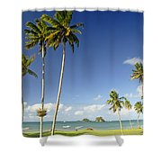 Taveuni Shoreline Shower Curtain