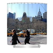 Taxi Anyone Shower Curtain