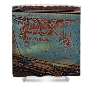 Taxi To Nowhere Shower Curtain