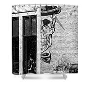 Taxman Waitress Shower Curtain