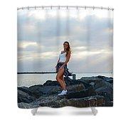 Taylor 019 Shower Curtain