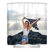 Taylor 022 Shower Curtain