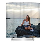 Taylor 024 Shower Curtain