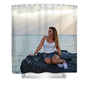 Taylor 025 Shower Curtain