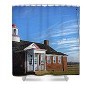 Taylor Bridge School Shower Curtain