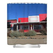 Taylor Feed Store Shower Curtain