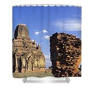 Tayokpye Temple Shower Curtain
