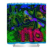Te 170 Ave Shower Curtain