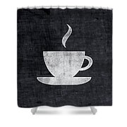 Tea And Coffee- Art By Linda Woods Shower Curtain