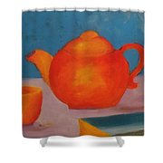 Tea? Shower Curtain