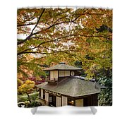 Tea Ceremony Room Shower Curtain