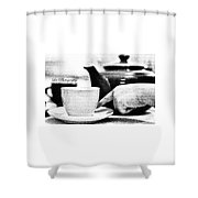 Tea Cup Shower Curtain