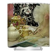 Tea For Two Shower Curtain