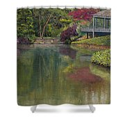 Tea House Shower Curtain