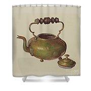 Tea Kettle Shower Curtain