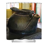 Tea Kettle Shower Curtain