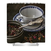 Tea Time 8529 Shower Curtain