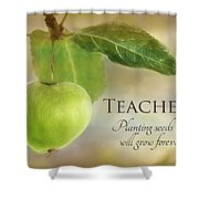 Teachers Shower Curtain