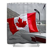Team Canada Shower Curtain